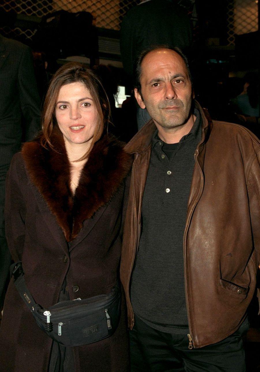 Jean-Pierre Bacri et Agnès Jaoui en mai 1998.