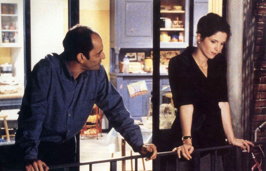 Jean-Pierre Bacri et Agnès Jaoui dans « Cuisine et Dépendances » en 1993.
