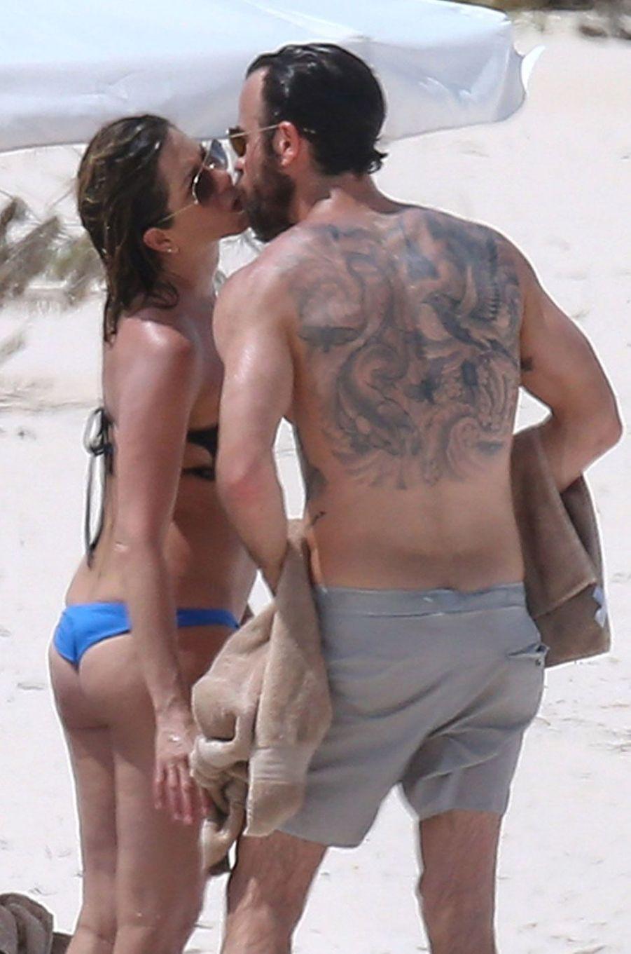 Jennifer Aniston et Justin Theroux en vacances aux Bahamas
