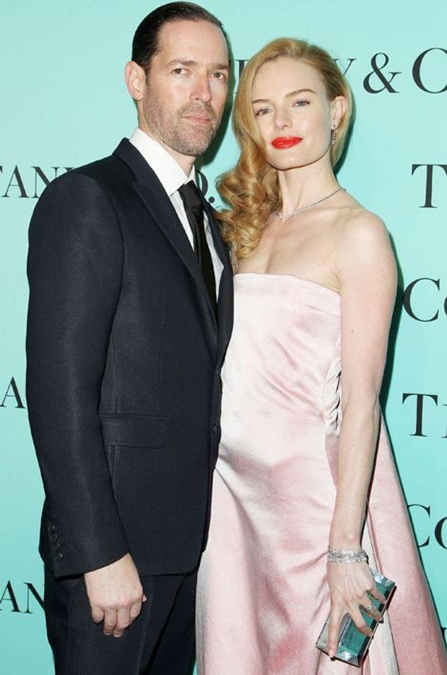 Kate Bosworth (en Katie Ermilio) et son mari Michael Polish