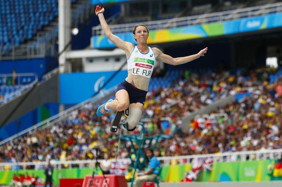 Marie-Amélie Le Fur s'est offert la médaille d'or dans l'épreuve du saut en longueur