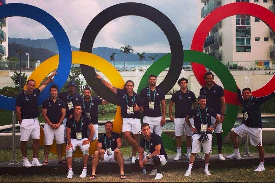 L'équipe de France de rugby à 7 à Rio