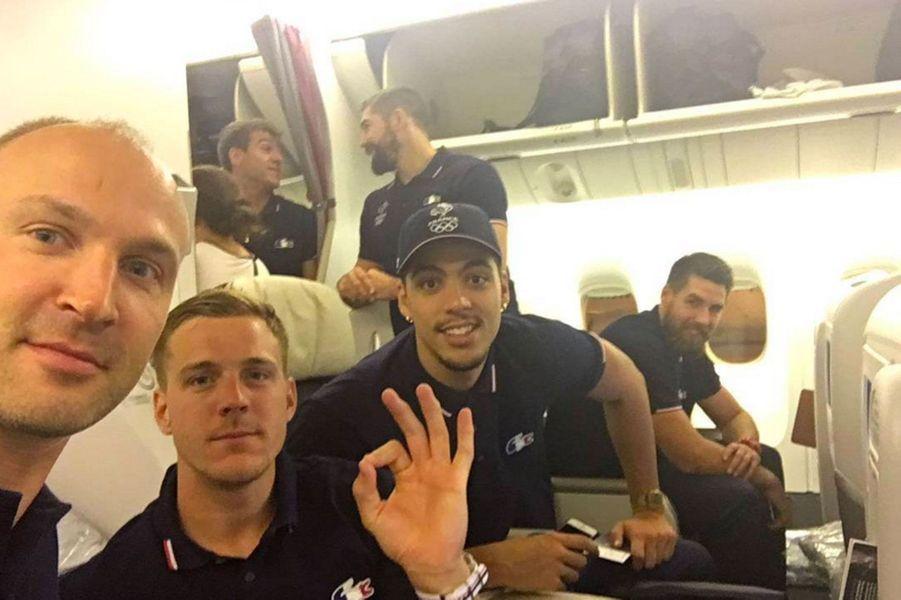 """Les """"experts"""" dans l'avion pour Rio"""