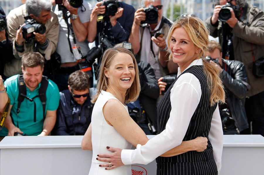 Jodie Foster et Julia Roberts