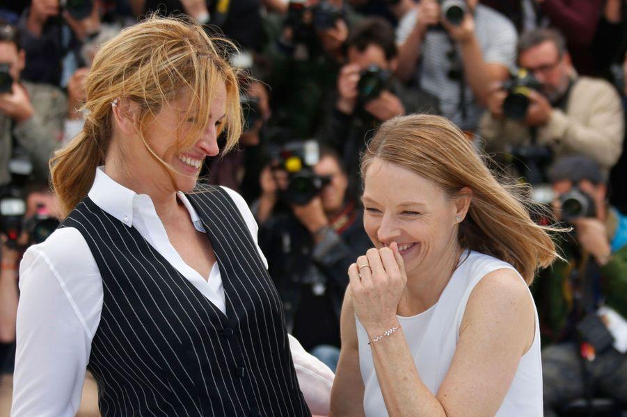 Julia Roberts et Jodie Foster
