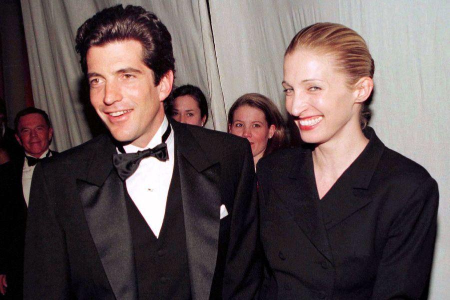 John et sa femme à New York, 1997