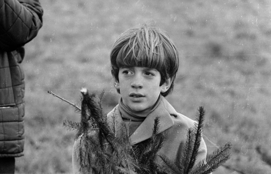 John Kennedy Jr. en décembre 1969.