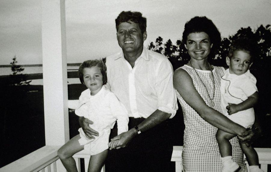 La famille Kennedy en 1962.
