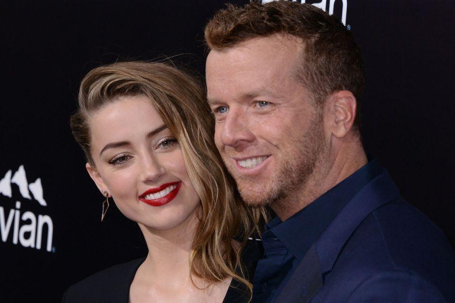 Amber Heard et le réalisateur McG