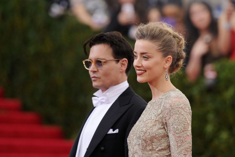 Johnny Depp et Amber Heard 2012-2016