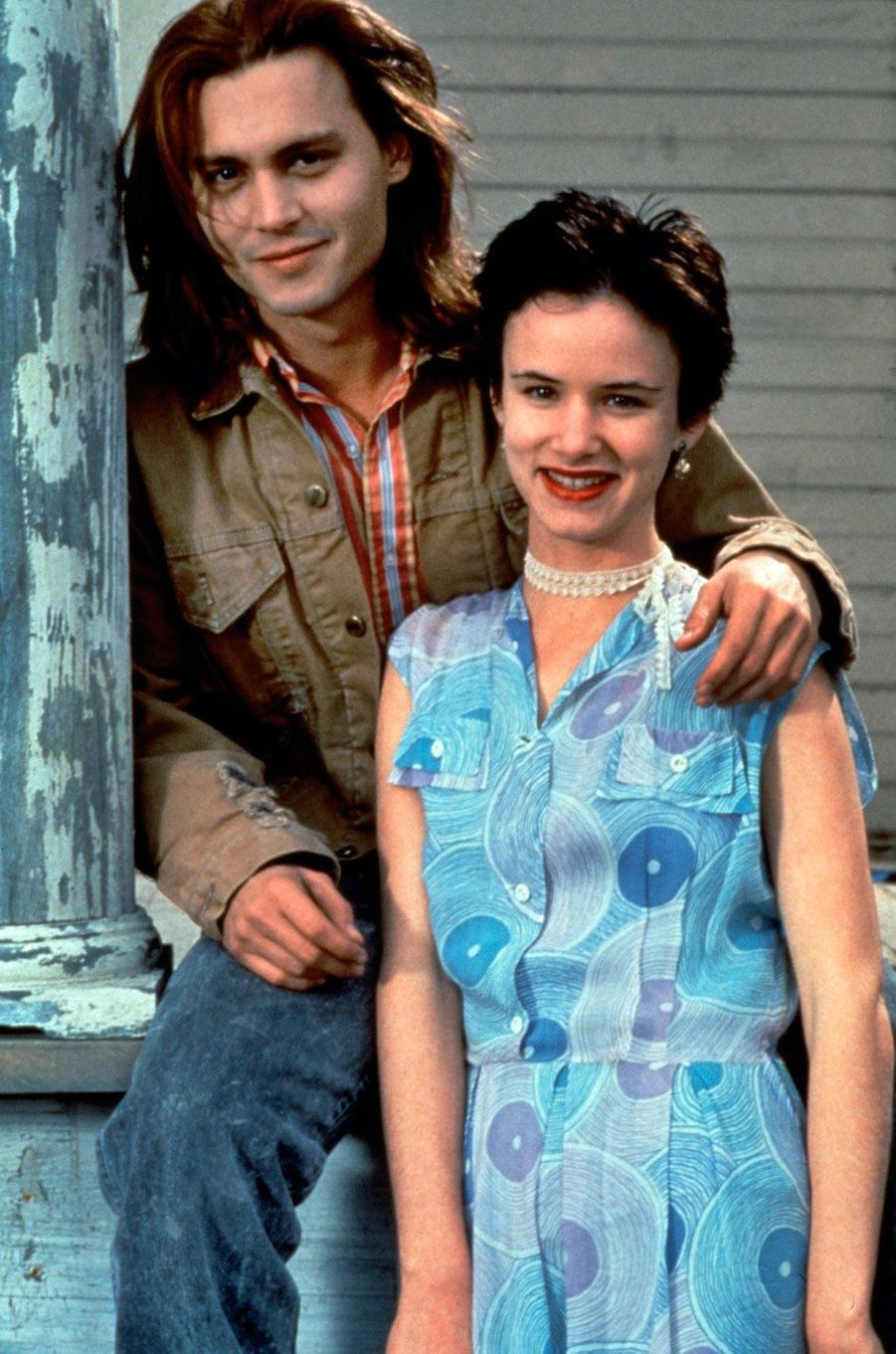 Johnny Depp et Juliette Lewis 1993