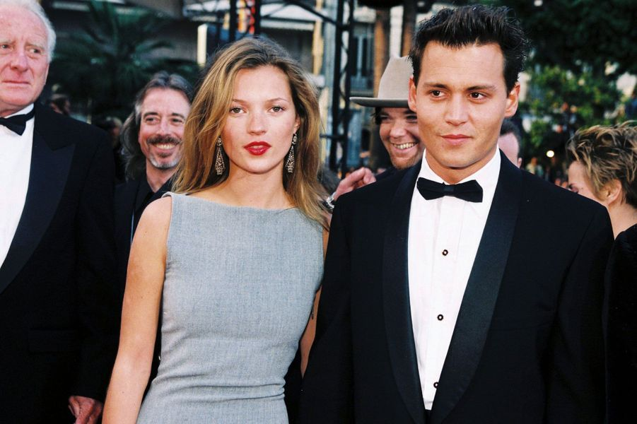 Johnny Depp et Kate Moss 1994-1997