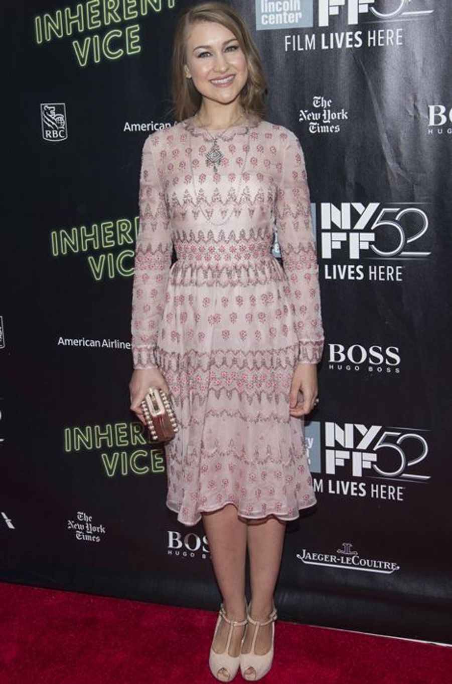 "Joanna Newsome à la projection de ""Inherent Vice"" à New York"