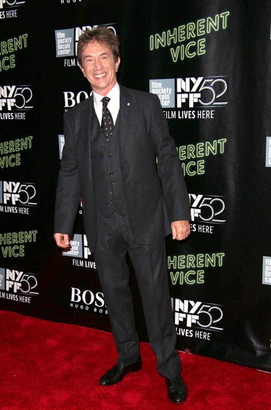 """Martin Grant à la projection de """"Inherent Vice"""" à New York"""