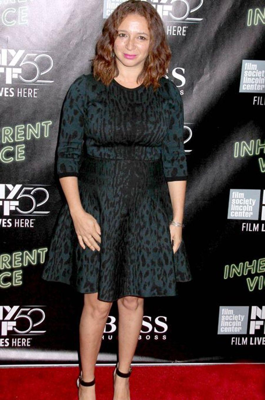 "Maya Rudolph à la projection de ""Inherent Vice"" à New York"