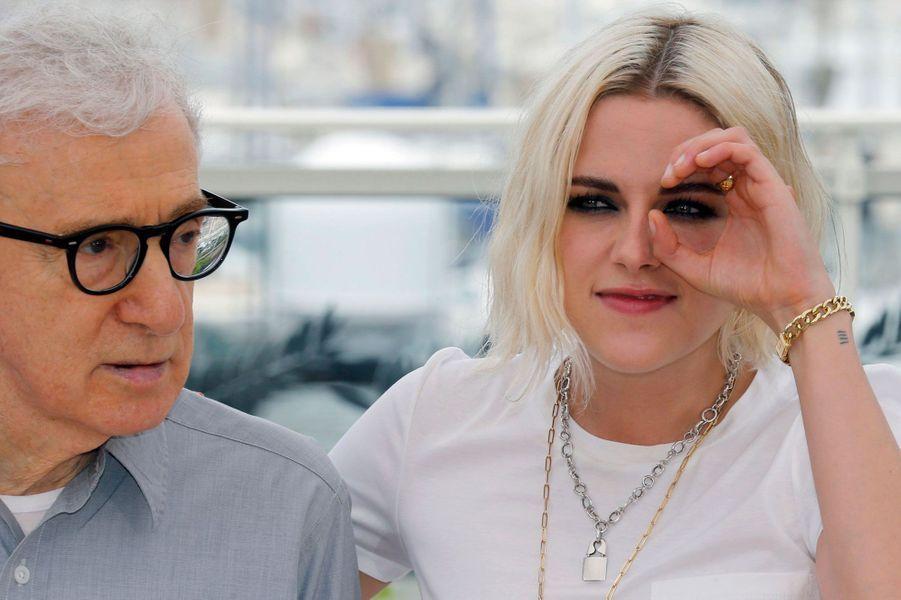 Woody Allen et Kristen Stewart