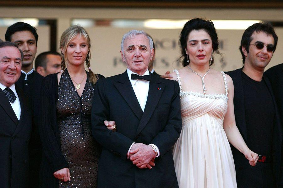 """Au Festival de Cannes en 2002, pour le film """"Ararat""""."""
