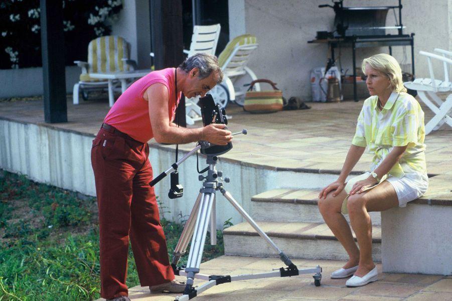 Charles Aznavour en vacances à Saint-Tropez, en 1985.