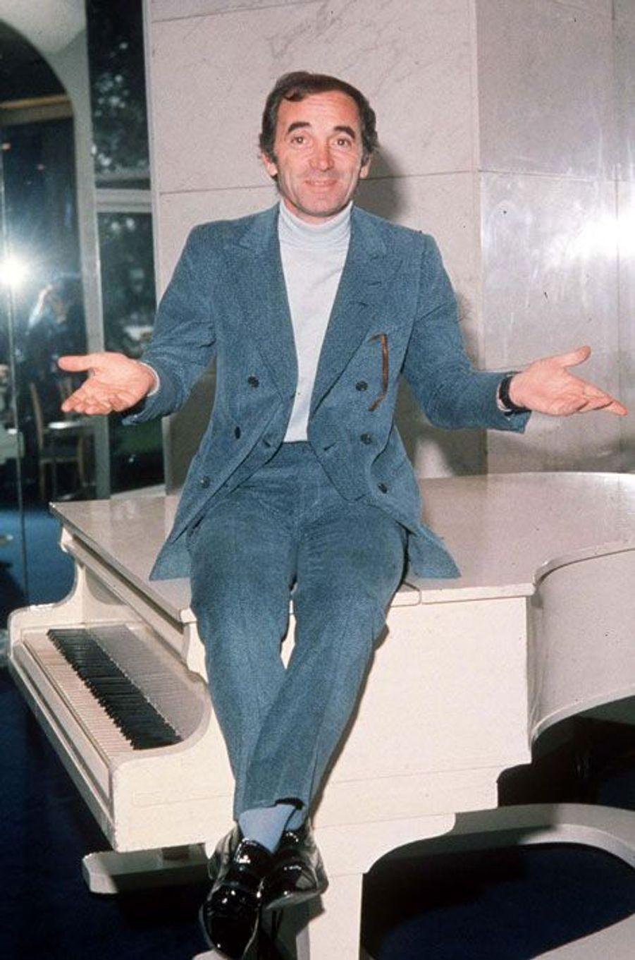 Charles Aznavour en septembre 1970.