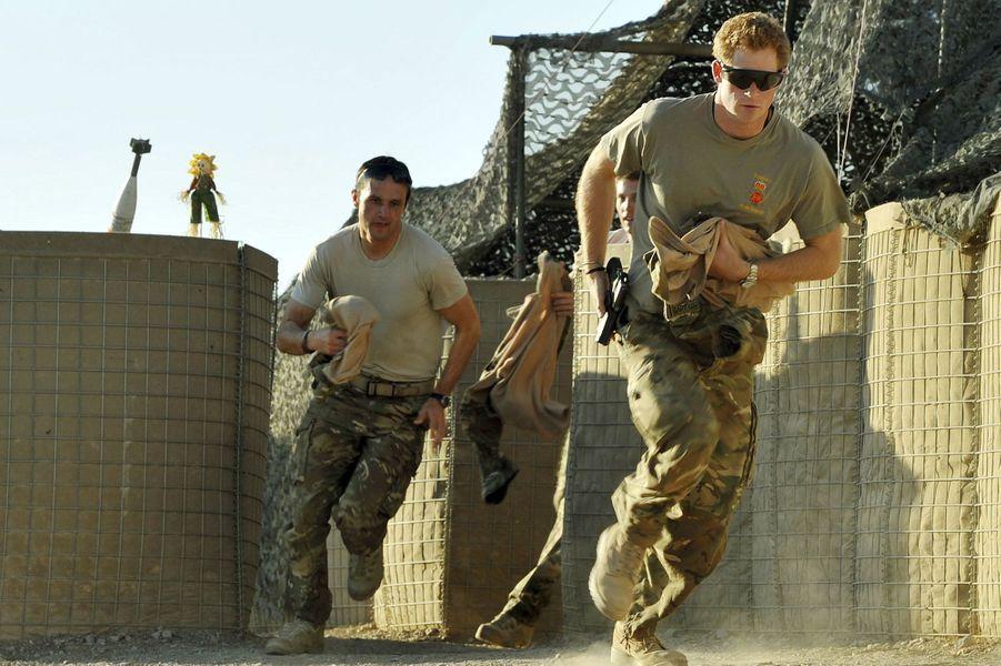2013, Harry en mission en Afghanistan