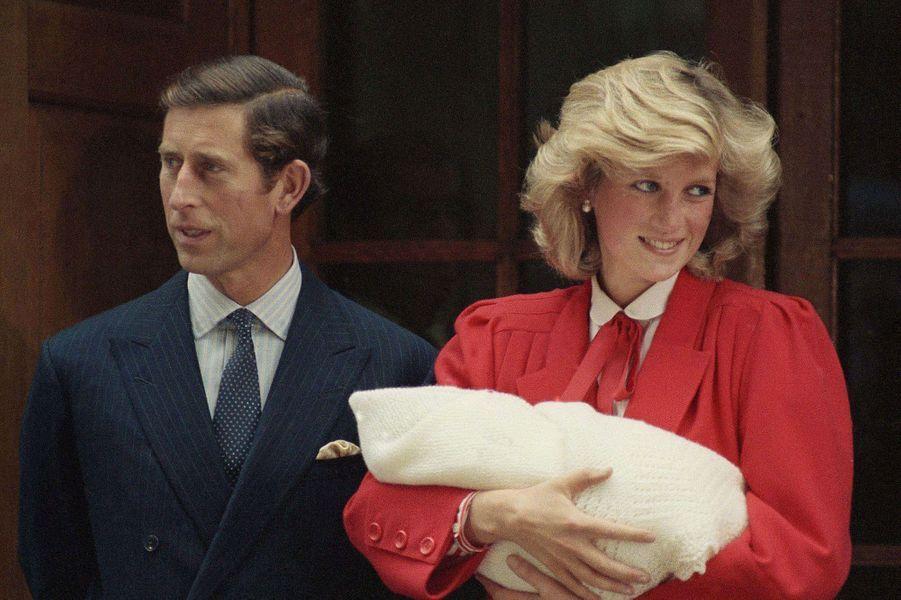En 1984, à la sortie de la maternité