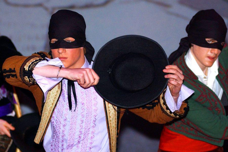 En 2003, Harry, sur scène