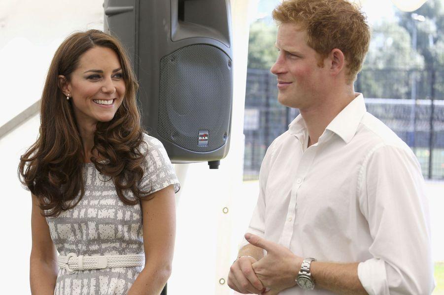 En 2012, Kate et Harry à la veille des JO de Londres