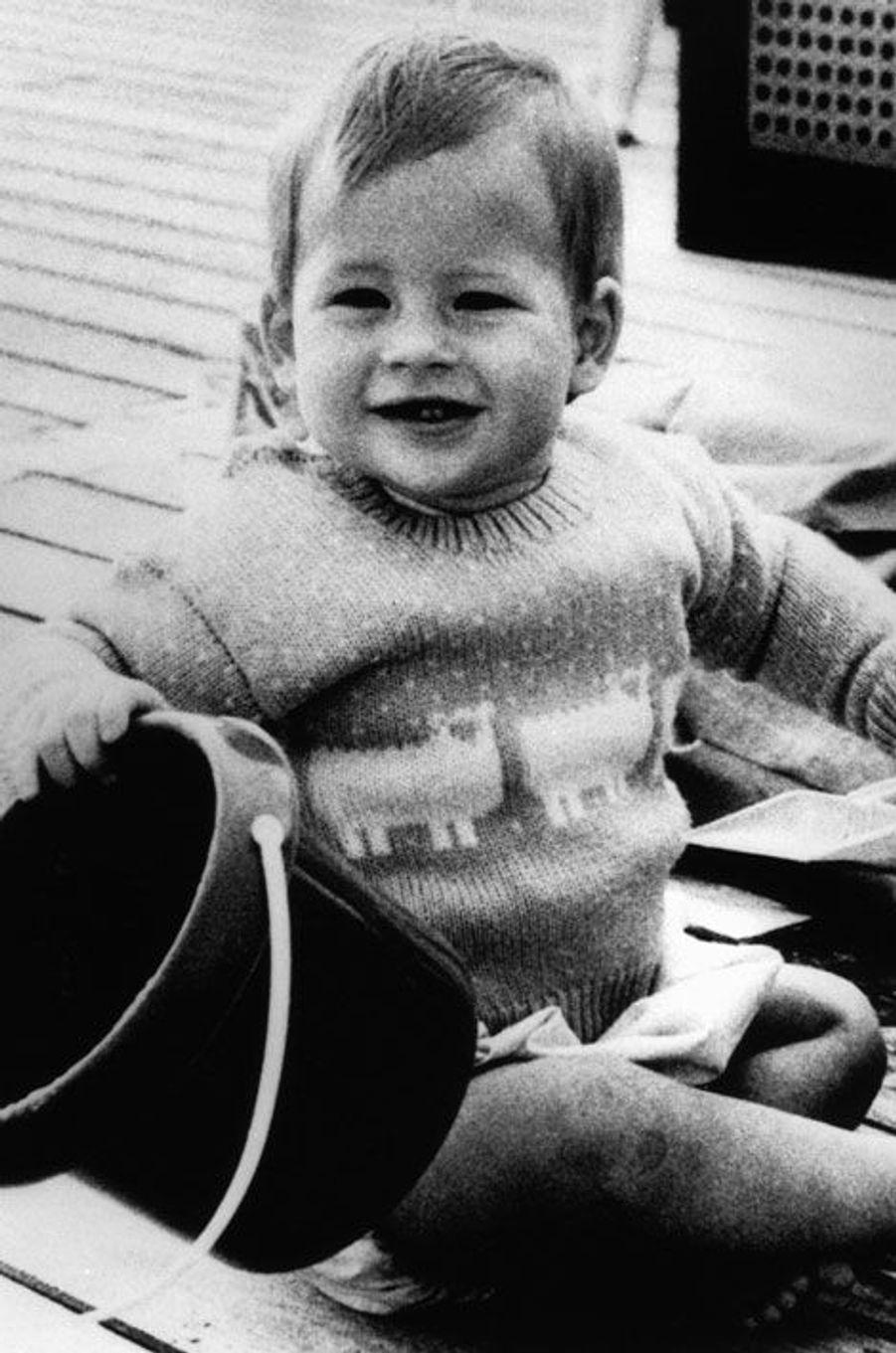 Harry, à un an