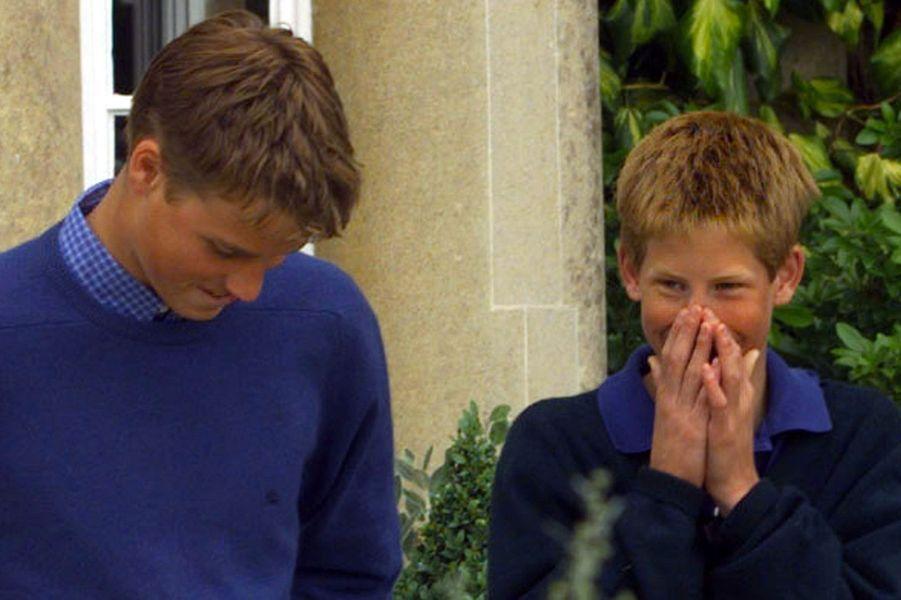 Harry et William, en 1999