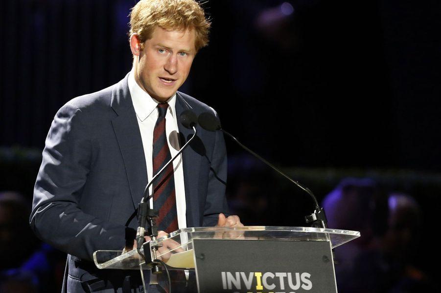 Septembre 2014, fier organisateur des premier «Invictus Games» à Londres