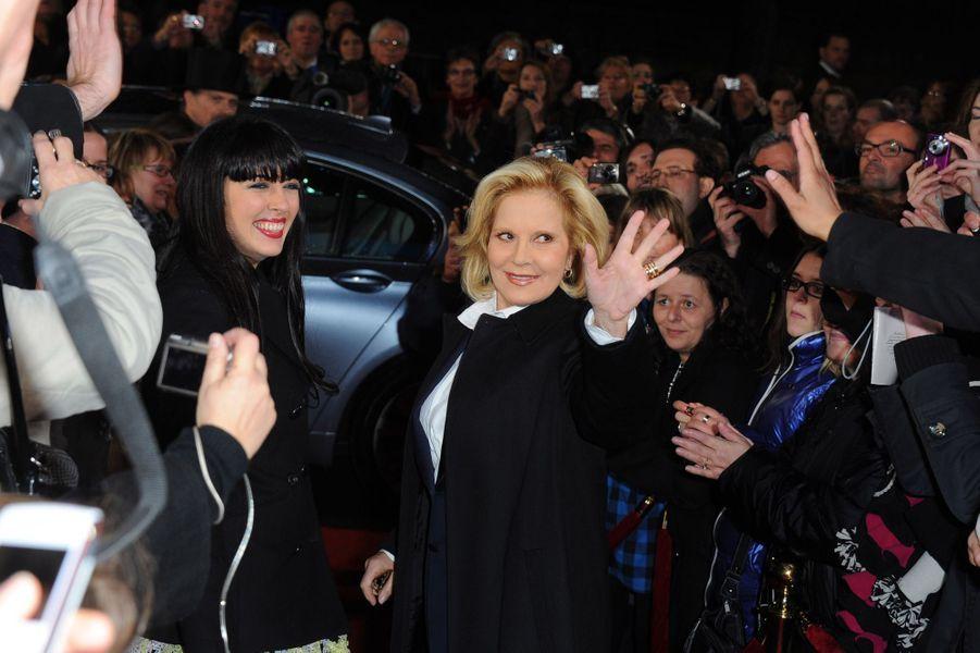 Sylvie Vartan, en janvier 2011, avec Nolwenn Leroy