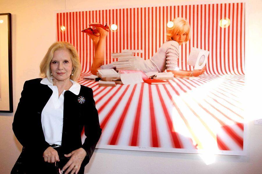 Sylvie Vartan, en juin 2009