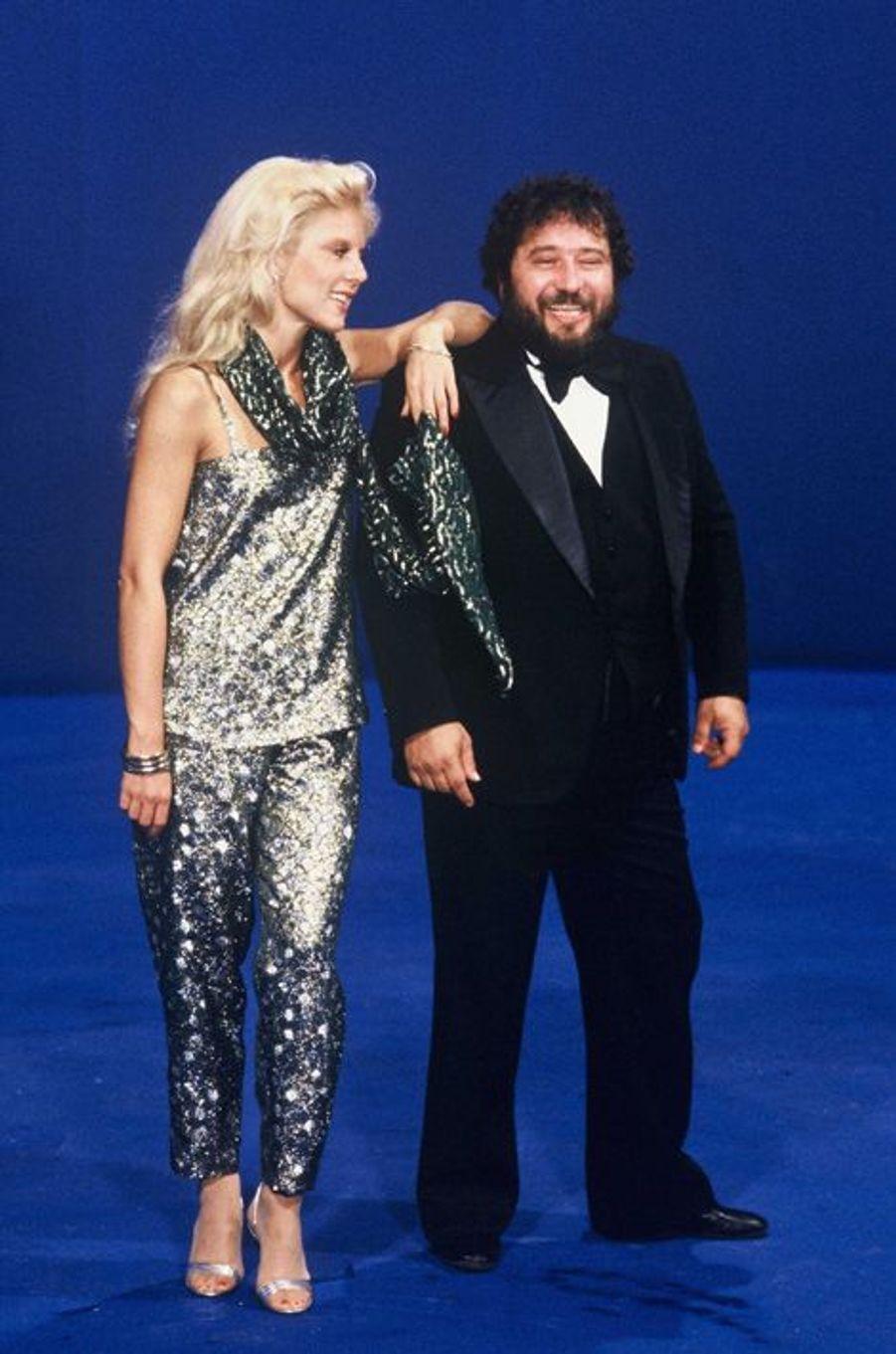 Sylvie Vartan et Carlos, en 1979