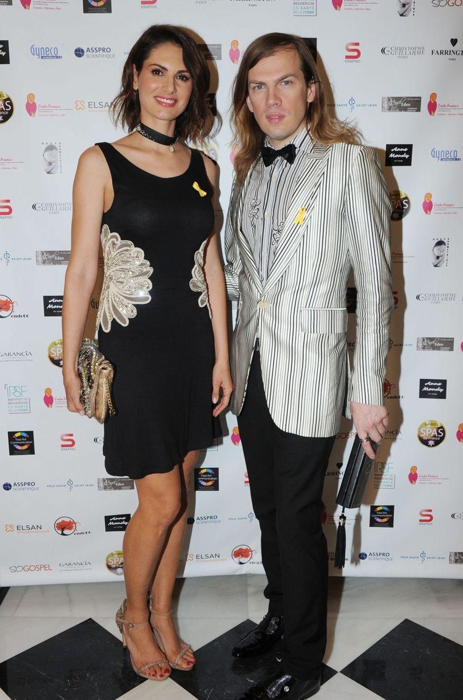 Laetitia Bleger et Christophe Guillarme le 6 avril 2016