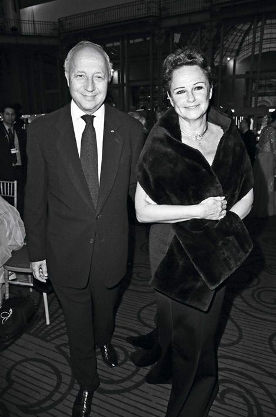Laurent Fabius et Marie-France Marchand-Baylet.