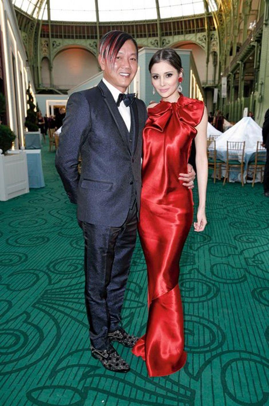 Stephen et Deborah Hung.