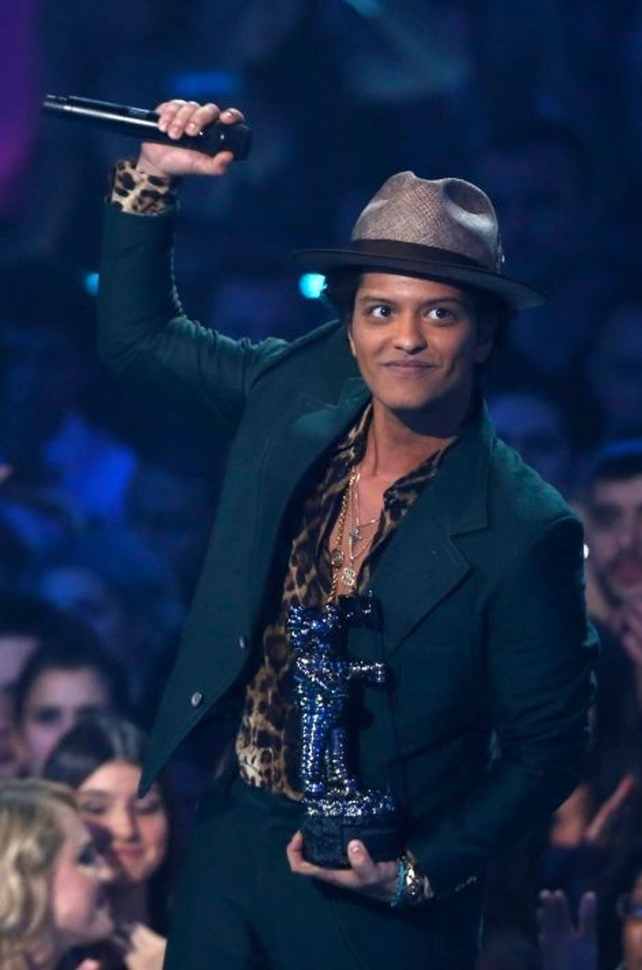 """Bruno Mars, meilleur clip masculin pour """"Locked out of heaven"""""""