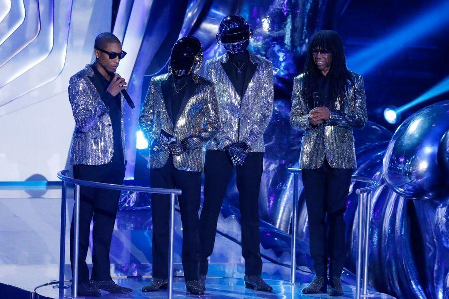 Pharrell Williams, les Daft Punk et Nile Rogers