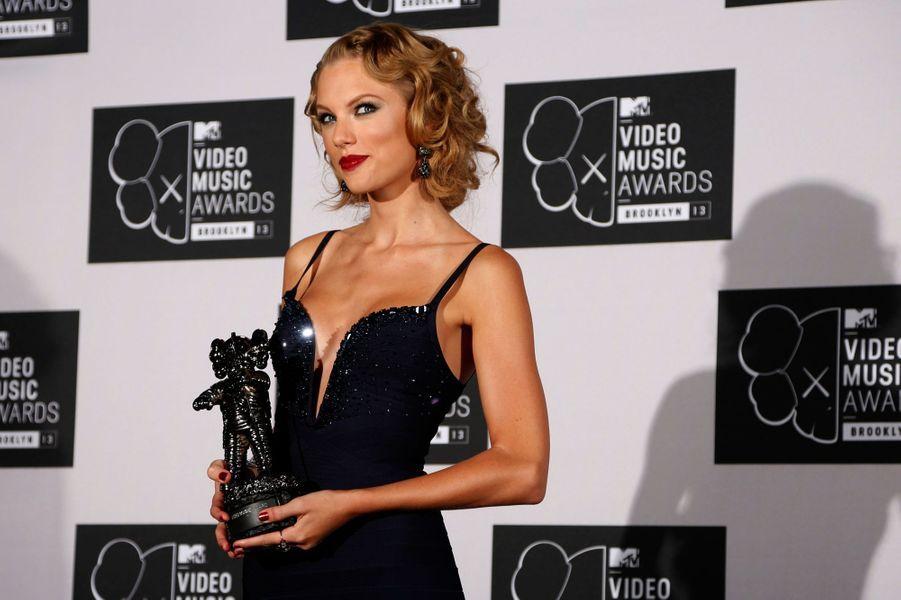 """Taylor Swift, meilleur clip féminin pour """"I knew you were trouble"""""""