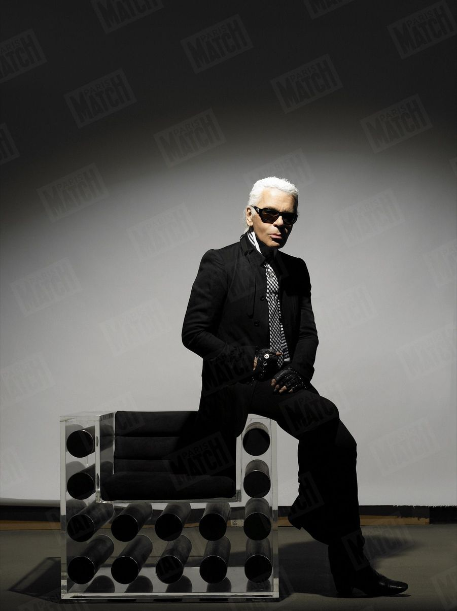 Karl Lagerfeld, autoportrait, 2007