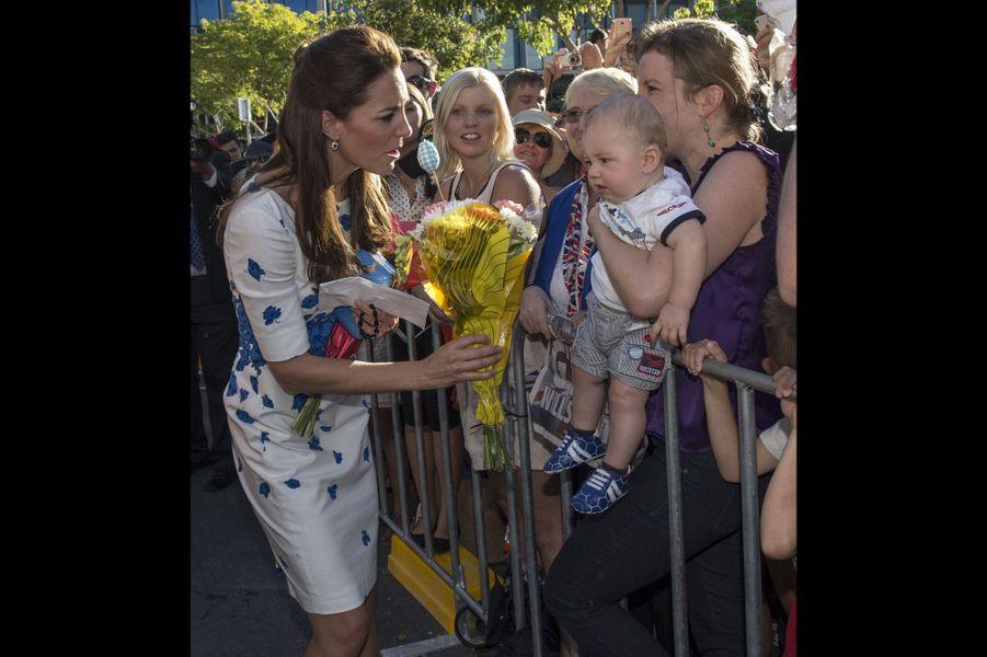 Kate, atout charme pour la Royal Air Force