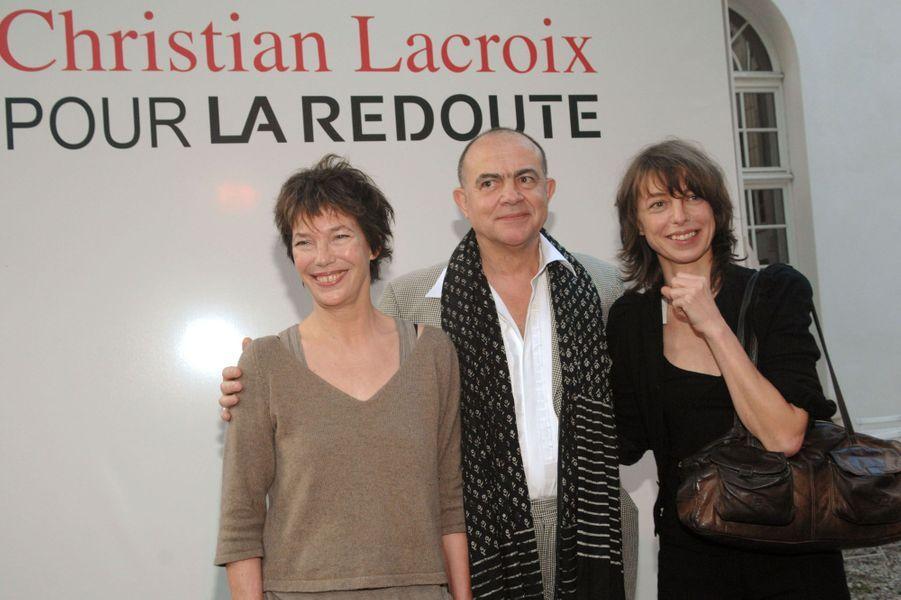 En mai 2007, avec sa mère et Christian Lacroix, dont elle a photographié la collection pour La Redoute