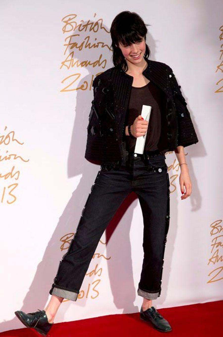 Edie Campbell, mannequin de l'année