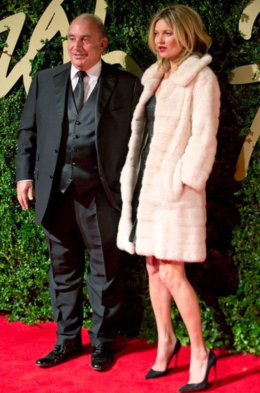 Philip Green, le patron de Topshop, et Kate Moss