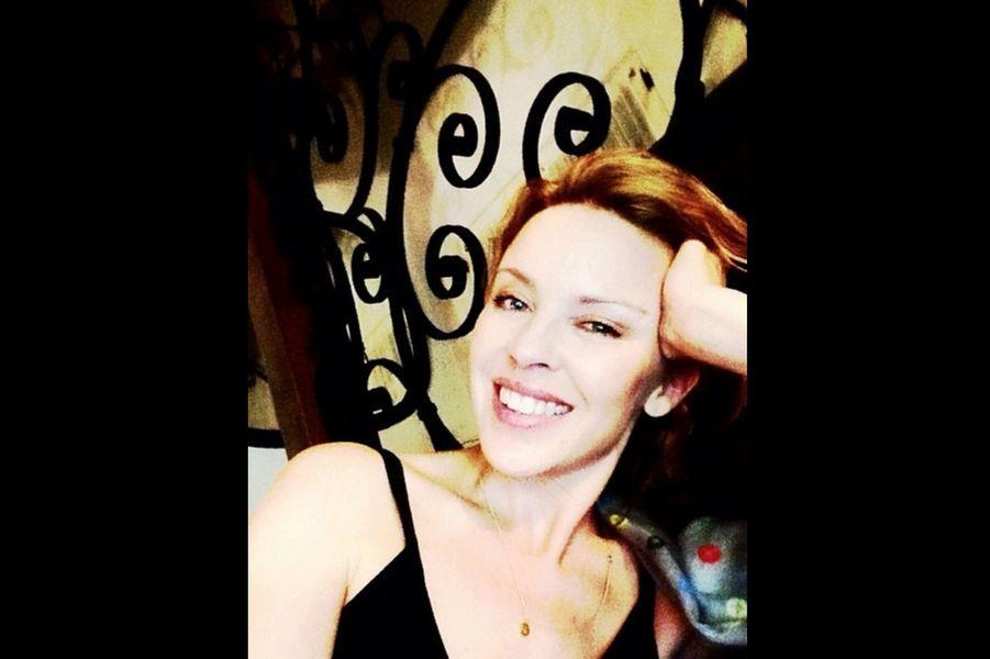 Kylie Minogue en studio