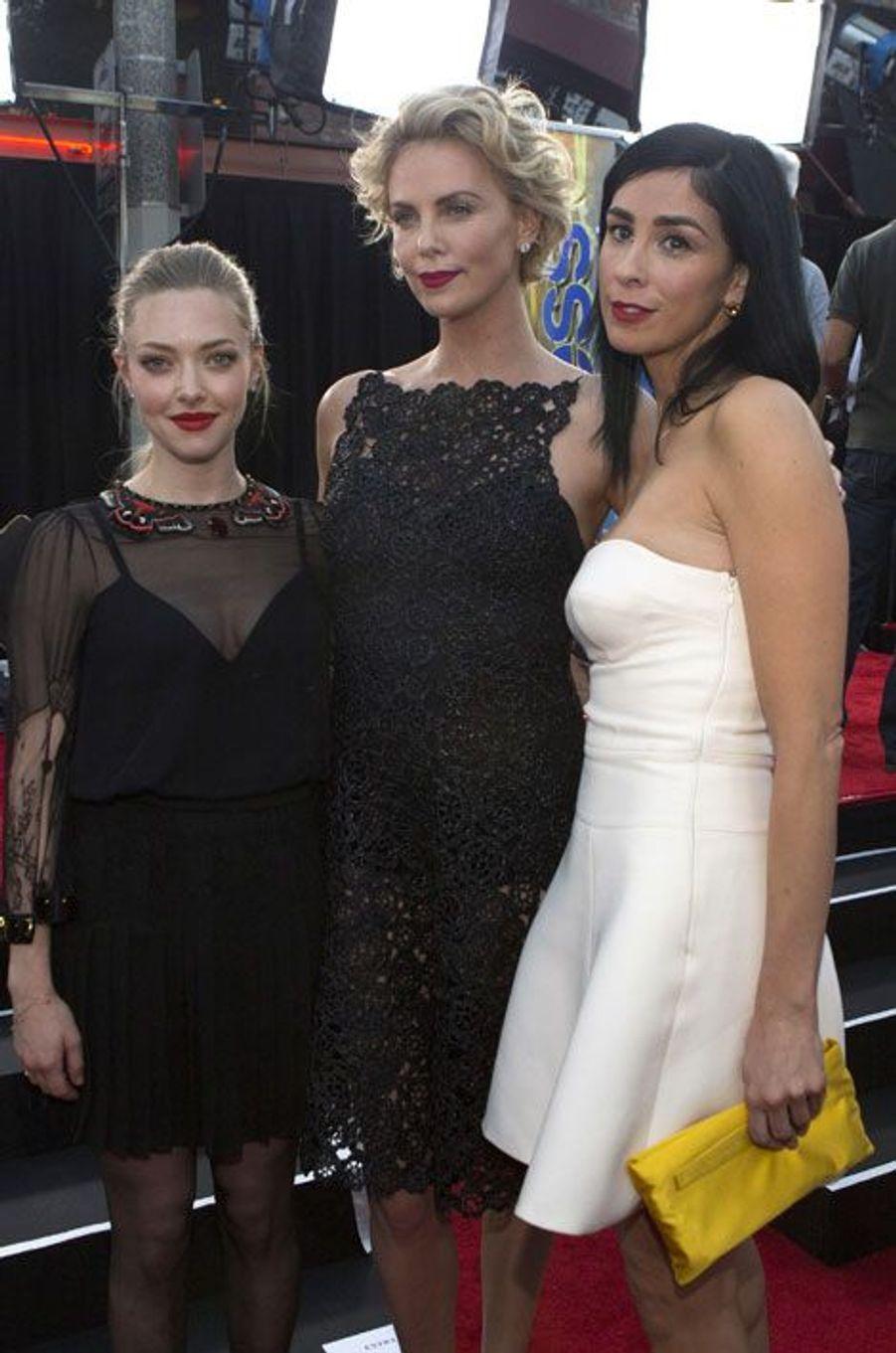 Amanda Seyfried, Charlize Theron et Sarah Silverman