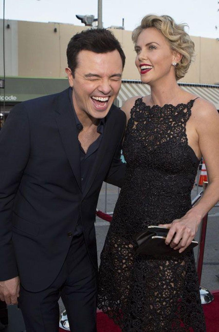 Seth MacFarlane et Charlize Theron