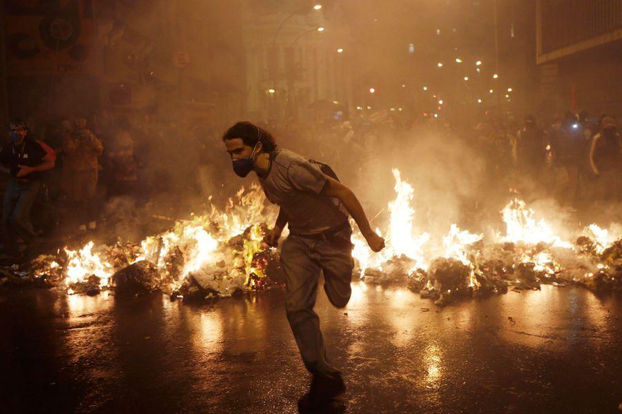 Voir le diaporamaPhoto prise à Rio le 7 octobre dernier.