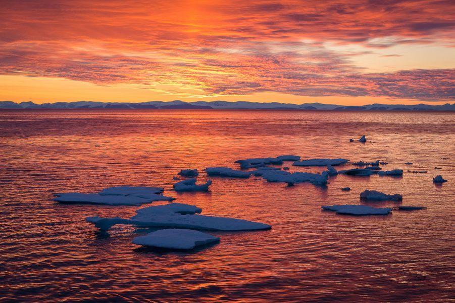 La magie de l'Antarctique