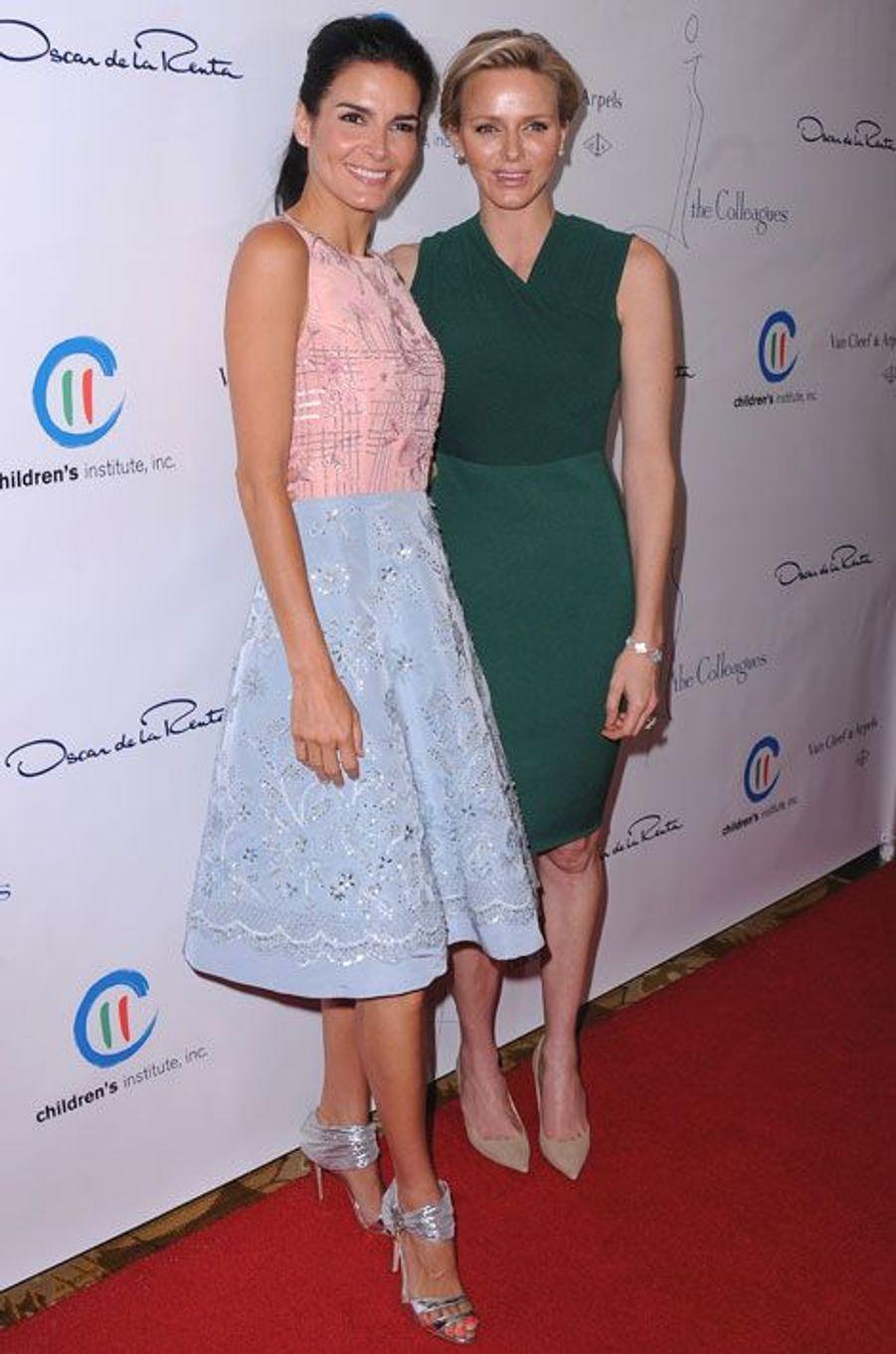 Charlene de Monaco et Angie Harmon